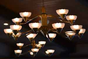 How to Update a Chandelier with Shades